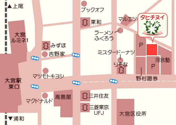 タヒチヌイ地図